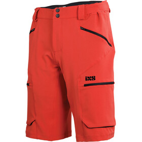 IXS Tema 6.1 Trail Shorts Herrer, fluor red